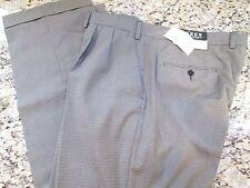 NEW LAUREN RALPH LAUREN PLEATED DRESS PANTS MENS 42X30 NEIL HOUNDSTOOTH FREE SHP