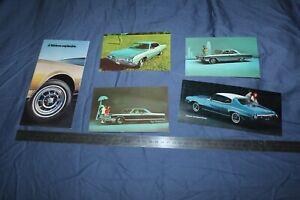 (MN2/C) Brochure et cartes postales BUICK Le Sabre Electra Skylark Riviera