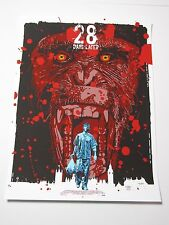 28 Days Later Screen Print Movie Poster by The Dark Inker Sold Out