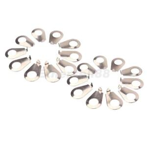 20PCS Guitar Knob Pointer Plate Washer 8.4mm Diameter Position Indicator New