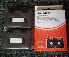 3 Single Strike Ribbon Cassettes Zx-2ts1bk for Sharp Font Writer Word Processor