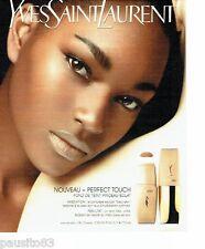 PUBLICITE ADVERTISING 116  2006  Yves Saint Laurent  maquillage   fond de teint