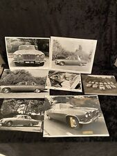 Automobile Pressefotos um 1970 Jaguar  XJ 6 Fotos Oldtimer Fan Bilder