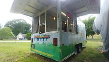 16' x 7' Concession Trailer Food Truck Kitchen - Hood, Fire, Propane & Electric