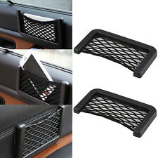 2 X Van Truck Car Net Mesh Storage Bag Pocket Organizer Holder Phone/Wallet