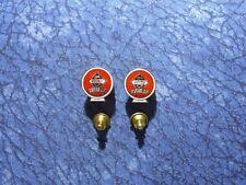 Lapel/Hat Pin Tie Tacks 2 Skelly Regular Gasoline Globe