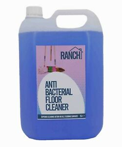 Floor Cleaner - Anti-Bac - Deodoriser - Baby Powder Scented - 5L Jerry - Ranch