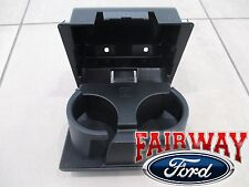 08 thru 16 Super Duty OEM Genuine Ford In-Dash Instrument Panel Cup Holder BLACK