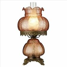 TF85003 - Rose Court Victorian-Style Hurricane Table Lamp