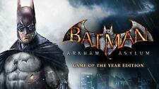 Batman Arkham Asylum GOTY Region Free PC KEY (Steam)