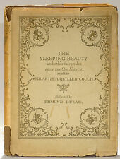 Edmund Dulac illustrated Sleeping Beauty early edition French fairy tales