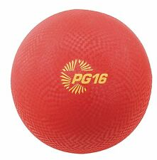 """Champion Sports PG16RD Ball,playground,16"""",red"""