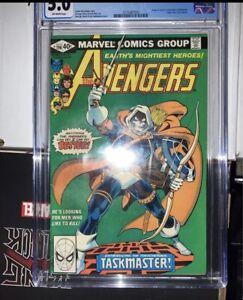 Avengers 196 CGC comic (1st taskmaster)