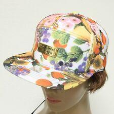 Fashion Summer 100% Cotton Tropical Floral Multi Color Snapback Baseball Cap Hat