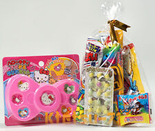 Japanese Foods Assorted Snack & Hello Kitty Ring set Candy & Toy Fun set