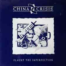 CHINA CRISIS - Flaunt The Imperfection (LP) (VG/VG-)