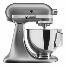 KitchenAid 5KSM95PSECU Stand Mixer with Pouring Shield Silver 4.3L (EU Plug)