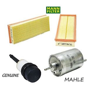 Tune Up Kit w/ Air Oil & Fuel Filters for Mercedes-Benz S430 2000-2006