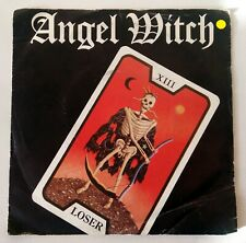 """ANGEL WITCH - LOSER / SUFFER / DR. PHIBES - 7"""" EP 1981 - BRONZE UK PRESS"""