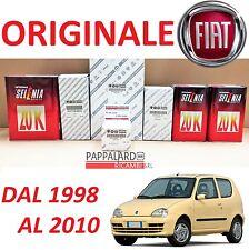 KIT TAGLIANDO FILTRI ORIGINALI +OLIO SELENIA 20K FIAT SEICENTO 600 1.1 40KW 54CV