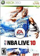 Xbox 360 : NBA Live 10 Game Disc Only Free Shipping 100% Guaranteed Working