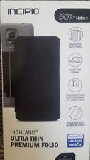 New OEM Incipio Highland Silver/Black Case For Samsung Galaxy Note 4