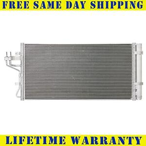 A/C Condenser For 2013-2014 Hyundai Genesis Coupe 2.0L Fast Free Shipping