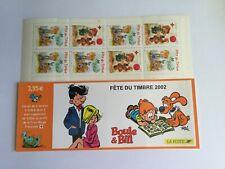 """Bande Carnet BC3467A - 2002 """" Fête du Timbre  - Boule & Bill """"Neuf non plier"""