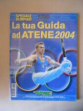 GUERIN SPORTIVO n°28 2004 SPECIALE OLIMPIADI GUIDA ATENE 2004  [SB6]