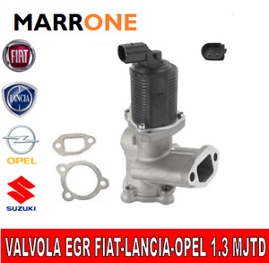 VALVOLA EGR GAS SCARICO FIAT PANDA 1.3 MJTD LANCIA OPEL 1.3 D MULTIJET JTD 03>