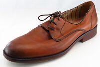 Johnston & Murphy Derby Oxfords Brown Leather Men Shoes Size 10.5 Medium (D, M)