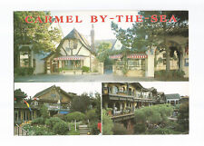 Postcard Carmel By The Sea Multivew California United States UP  (A14)