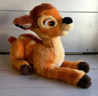 "A64 Disney Store Bambi Plush! 13"" Lovey Stuffed Toy Deer Fawn"