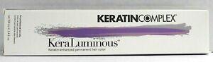 Keratin Complex KeraLuminous Keratin-Enhanced Permanent Hair Color ~ 3.4 fl. oz.