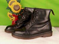Schwarz Dr.Martens 1460 vtg Made in England Stiefel Größe 42/41,5 uk 8