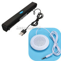 USB Music Laptop Multimedia Mini 3.5mm Pilllow Speaker for PC Computer MP4 iPod