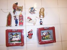 Various Miniature Christmas Ornaments Vintage To New