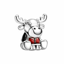 New Authentic Pandora Bead Canada Moose Maple Leaf Charm 798931C01
