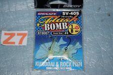 2 Têtes plombées DECOY SV-40 FLASH BOMB poids / couleur au choix neuf