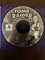 Tomb Raider II Starring Lara Croft Sony PlayStation 1, 1997 PS1 Disk Only Tested