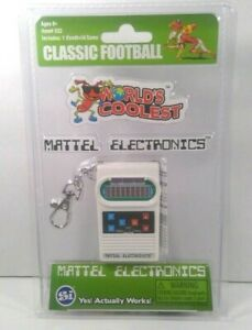 Mattel Electronics Classic Football Game Smallest Handheld Game Worlds Coolest