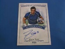 Zack Test Goodwin Champions 2016 Autograph AUTO Rugby