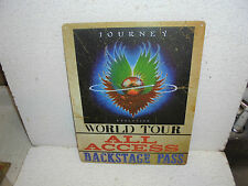 Journey Evolution World Tour : All Access Metal Sign Very Cool Sign