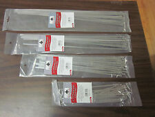 "100pc 8"" 12"" 15"" 17"" STAINLESS STEEL METAL LOCKING WIRE CABLE ZIP TIES STRAPS"