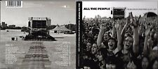 2 CD DIGIPACK 25T BLUR ALL THE PEOPLE LIVE AT HYDE PARK 03 JULY 2009