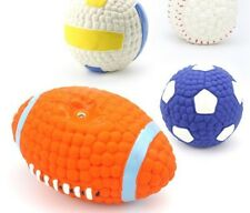 Pet Dog Puppy Cat Training Dental Toy Rubber Chew Ball Teething Aid Play Toy