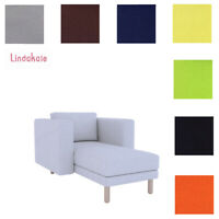Custom Made Cover Fits IKEA Norsborg Chaise Lounge, Replace Chaise Cover