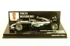 1 43 Minichamps Mercedes AMG F1 W07 Hybrid Winner GP China Rosberg