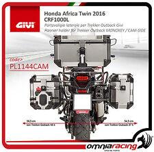 Honda CRF 1000 Africa Twin 2016 - Pannier holder for Monokey Cam-Side PL1144CAM