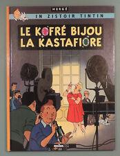 Tintin en Creole Reunionnais Bijoux Castafiore Herge Epsilon BD